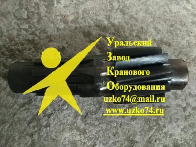 Вал-шестерня 2502-1-17 ДЭК-251