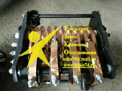Токоприемник кольцевой (токосъемник) для крана ДЭК-251 марки К-3109 (ТКК-109)
