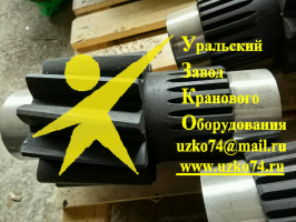 Вал-шестерня 800.11.21.01 МКГ