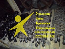 Скоба опорного катка с гайками 720.114-12.02.0.000
